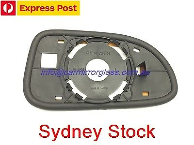 LEFT PASSENGER SIDE DAEWOO LACETTI J200 2003-2005 MIRROR GLASS WITH BASE