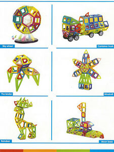 198-pcs-Magical-Magnet-Toy-Magnetic-Construction-Set-Similar-Magformers-Toy