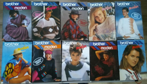 Brother modes-revue pour Brother machines Tricot