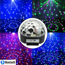 Bluetooth RGB LED MP3 DJ Club Party Xmas Holiday Crystal Magic Ball Stage Light
