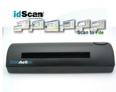 New ACUANT SCANSHELL 800//800R SCANNER  ID /& DRIVER LICENSE READER  HARDWARE ONLY