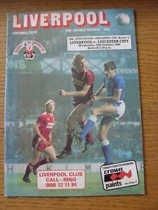 29101986 Liverpool v Leicester City Football League Cup folded marked on b - <span itemprop=availableAtOrFrom>Birmingham, United Kingdom</span> - Returns accepted within 30 days after the item is delivered, if goods not as described. Buyer assumes responibilty for return proof of postage and costs. Most purchases from business s - Birmingham, United Kingdom