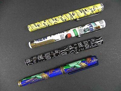 NEW YORK City Kugelschreiber Pen ,4 Stück !!! Freiheitsstatue Empire,NEU