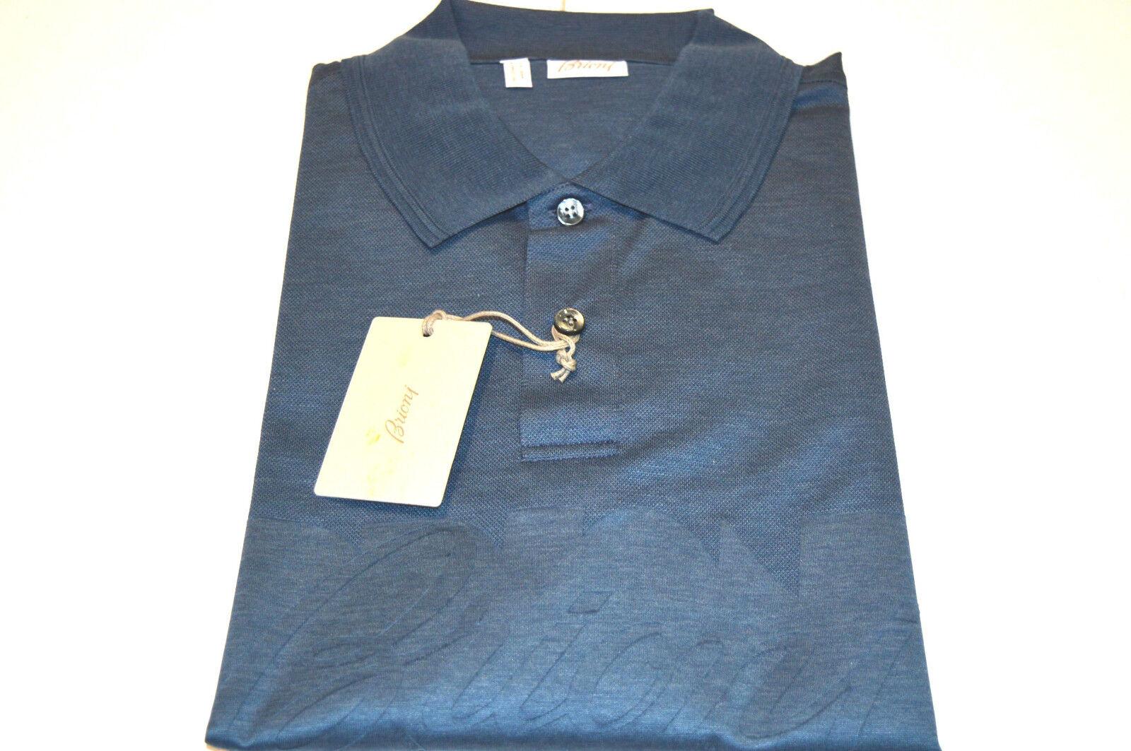 NEW  BRIONI Polo  Short Sleeve Cotton Size S Us Eu 48 (SpStampA)