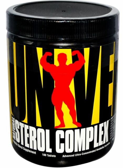 NEW STEROL COMPLEX NATURAL ANABOLIC STEROL SUPPLEMENT UNIVERSAL NUTRITION TABLET