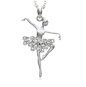 Fashion jewelry white dancing ballerina dancer ballet dance image is loading fashion jewelry white dancing ballerina dancer ballet dance mozeypictures Image collections
