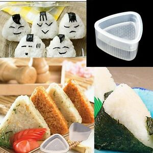 2x-White-Sushi-Mold-Onigiri-Rice-Ball-Bento-Press-Maker-Mould-DIY-Tool-Kit