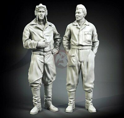 FI35-112 2 Fig. Normandy WWII Set German Tankers Panzer Art 1//35 Achtung Jabo