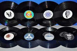 8 Stuck 12 Vinyl Schallplatten Besondere Labels Ohne Cover Lp Maxi