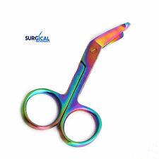 1 Lister Bandage Nurse Scissors 35 Multi Titanium Color Rainbow Nurse