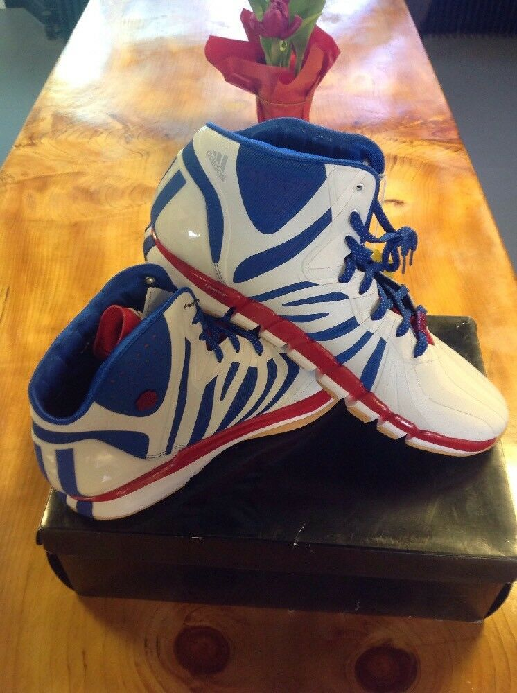 Men's Adidas Adizero pink 4.5  Draft Lottery  D74388 Derrick pink size 17