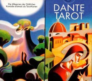 Dante-Tarot-Neu-eingeschweisst-Sammler-rar-Koenigsfurt-Verlag-9-90