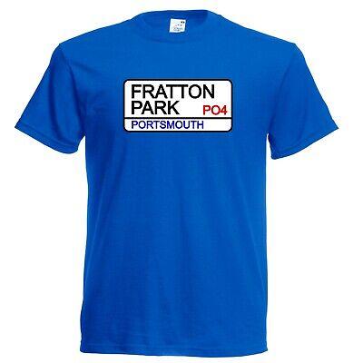 Kids Portsmouth FC Fratton Park Street Sign Football Club Soccer T-Shirt