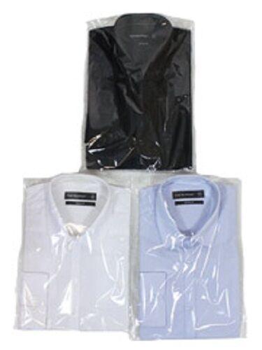 """Para Hombre De Madera De Cedro Estado Cuidado fácil camisa de trabajo informal de 15-18 de 1//2 /""""Collar Regular Fit"""