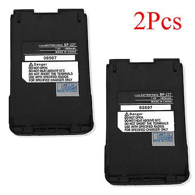 BP-227 BP-227Li Battery for ICOM IC-F61 IC-F61V IC-M87 IC-M88 IC-E85 IC-V85