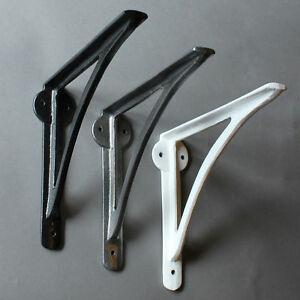 CAST-IRON-SHELF-BRACKET-CISTERN-WALL-ANTIQUE-VINTAGE-STYLE-BLACK-WHITE-PEWTER-8-034