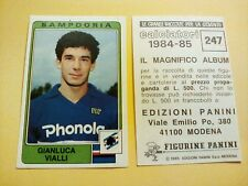 Figurina Album Calciatori Panini 1984/85 n°247 GIANLUCA VIALLI SAMPDORIA nuova