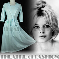 VINTAGE LAURA ASHLEY DRESS 50s 40s WEDDING 20s 30s VICTORIAN SAILOR ROCKABILLY