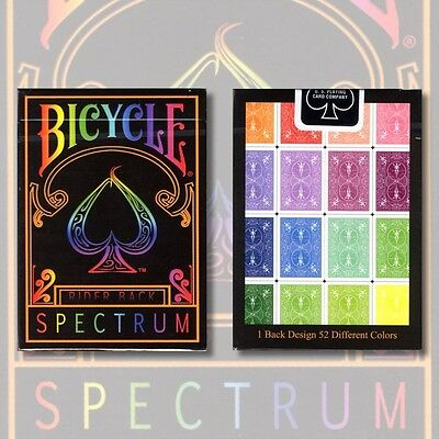 Spectrum Edge Deck by US Playing Cards new