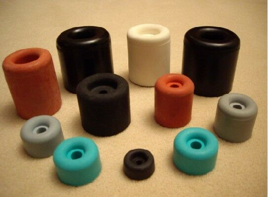 Búfer de goma, bloqueador, tope 16øx07-40øx50, negro, rojo, gris, blancoo, turquesa