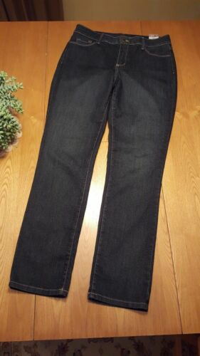 X Skinny Taglia Straight molto bello Jeans Nwot Nydj 31 Womens 30 IwqYO1xE