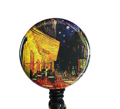 Vincent Van Gogh - Tin Retractable Name ID Badge Holder Reel