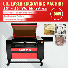Upgraded Co2 Laser Engraver Cutter 100w 28x20 Cutting Engraving Machine Ruida