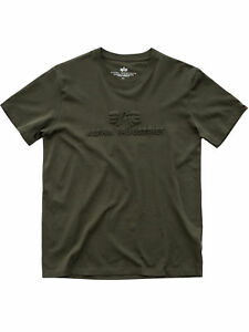 Alpha-Industries-T-Shirt-3D-T-178502-257-Dark-Green-Dunkelgruen-Oliv-6110