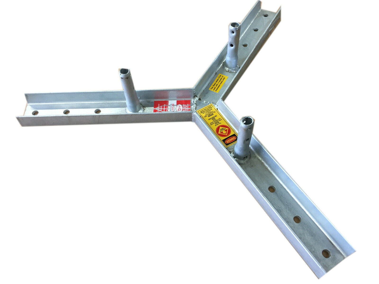 AMERITE SERIES, ROHN TOWER STYLE - AME-RF25 FLAT ROOF MOUNT BASE, OEM . Available Now for 299.00
