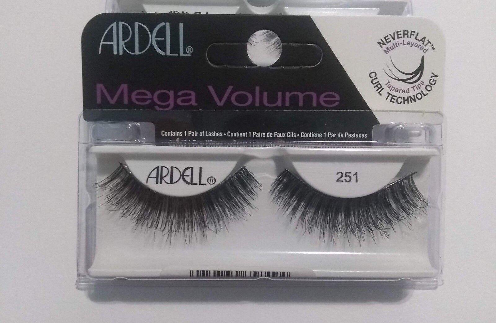 c6931f2f46f Buy 2 Pair Ardell Mega Volume False Eyelashes #251 Black online | eBay