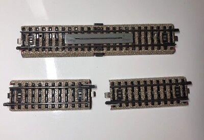 Gleis Kontaktgleis Märklin H0 5145 M 7193 Set für Bahnübergang 7192