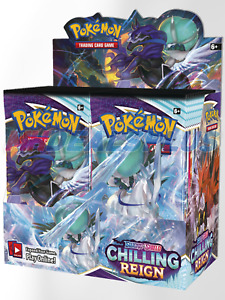 Pokemon Chilling Reign Booster Box PREORDER 6/18 Ship Date