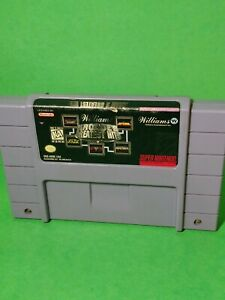 MIDWAY-PRESENTS-ARCADE-039-S-GREATEST-HITS-Super-Nintendo-SNES-Authentic