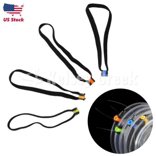 4-pcs Tippet Spool Tender avec bande élastique