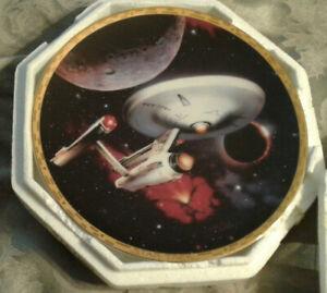 Enterprise-NCC-1701-Star-Trek-Voyages-Vehicle-Series-Plate-1-3928N-Hamilton