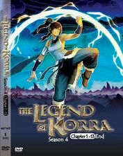 DVD Avatar: The Legend Of Korra (Book / Season 4) 1-13End DVD Boxset