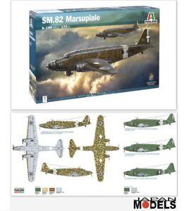 SM-82-MARSUPIALE-Italeri-No-1389-1-72-Model-Kit-Aereo-Italiano-Plane-Nuovo-New