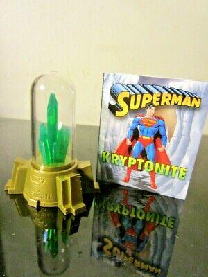 """Superman Glowing Kryptonite Miniature Editons 3/"""""""