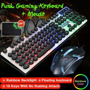 Set-LED-Teclado-de-Juego-Gaming-Retroiluminado-Mecanico-Raton-Alfombrilla
