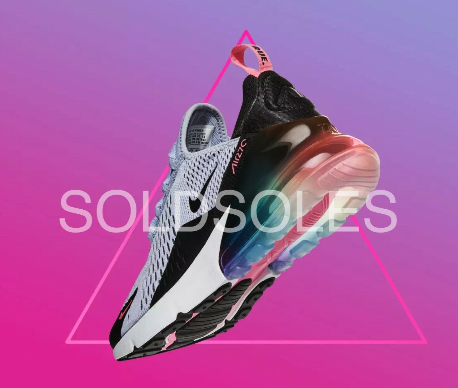 Nike Air Max 270 Be True LGBT Multi