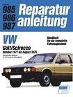 VW Golf/Scirocco 10/1977 bis 8/1979 (2012, Kunststoffeinband)