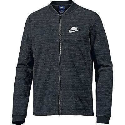 Nike NSW AV15 Sweatjacke Herren black black white im Online Shop von SportScheck kaufen