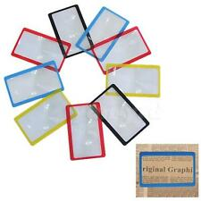 1PCs Credit Card 3X Magnifier Magnification Wallet Magnifying Fresnel Lens