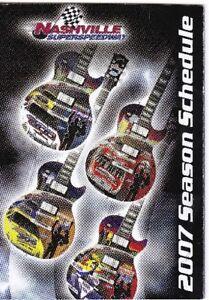 2007 NASCAR NEXTEL CUP SERIES POCKET SCHEDULE