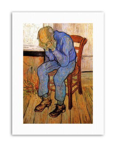 VINCENT VAN GOGH OLD MAN IN SORROW ON THRESHOLD ETERNITY 1890 Canvas art Prints