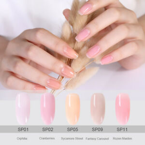 Jelly-Rose-Nue-Nail-Art-Vernis-a-Ongles-Semi-permanent-Gel-Polish-UV-BORN-PRETTY