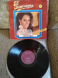 LOLA FLORES El Liederbuch LP Vinyl 1979 Belter Spanisch Ersten Press VG/VG