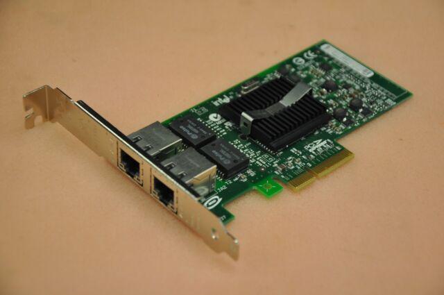 DELL OEM Intel PRO/1000 PT Dual Port PCI-e Server Network Card DP/N 0X3959