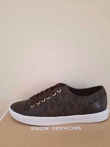 Nib Michael Women's Mk 5 7 Size Kors City Sneaker Signature GLpqSUzMV