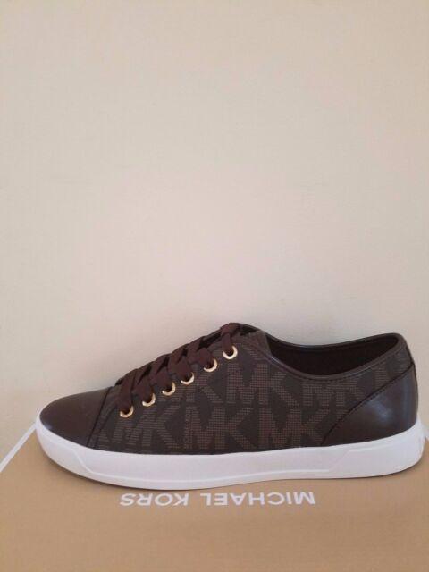 897964909f0 Michael Kors Women s City SNEAKERS Shoes Size 6 Black Color for sale ...